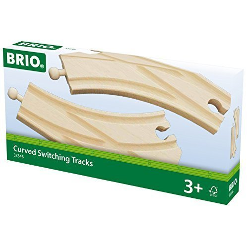 BRIO Track - Curved Switches