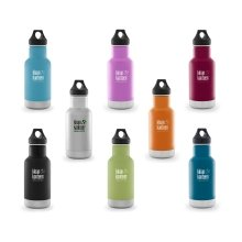 Klean Kanteen Classic Vacuum insulated drinks bottle - 12oz/355ml with Loop Cap