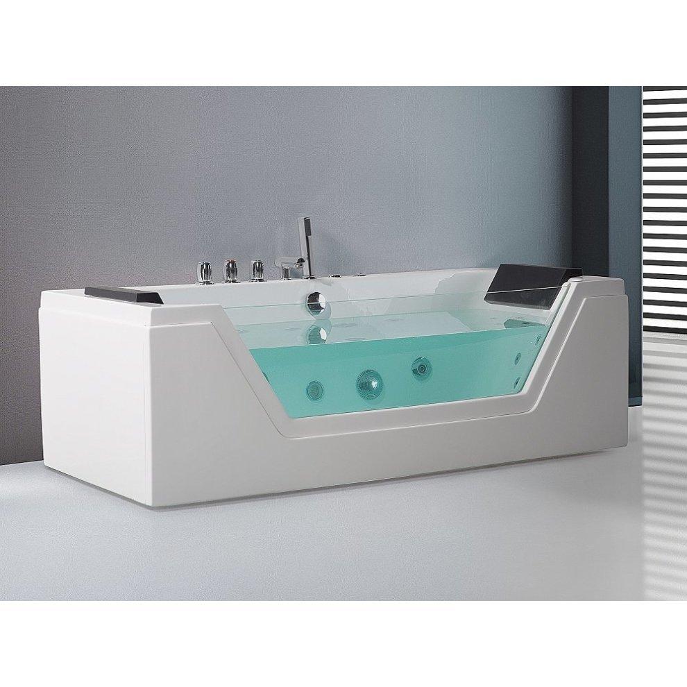 Whirlpool - Rectangular Bathtub - Spa - SAMANA on OnBuy