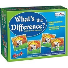 Creative Pre-school -what's The Difference - Preschool Whats Cre0627 Educational -  creative preschool whats difference cre0627 educational