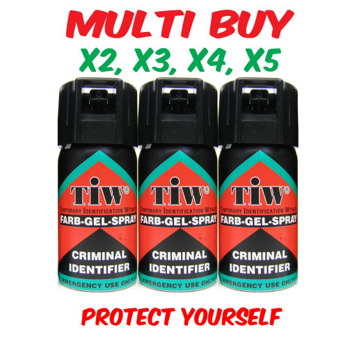 Farb Gel - UK Legal Self Defence Spray