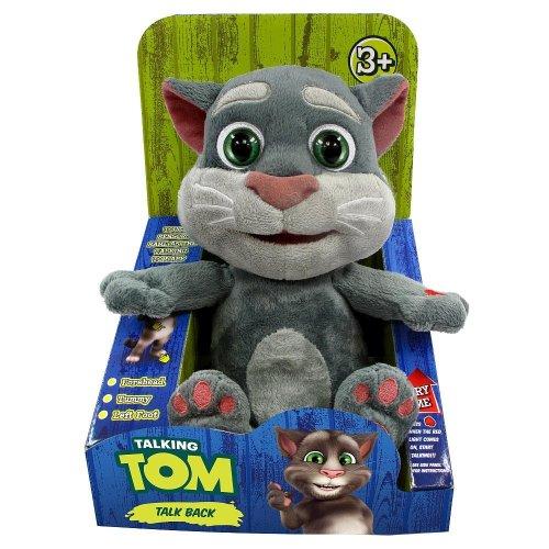 Talking Friends Talking Tom Animated Plush Toy with Talkback