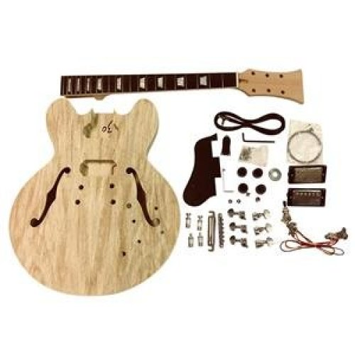 Coban ES Mahogany Hollow body GDES260  All Pre-drilled Electric Guitar DIY kit