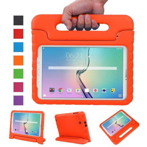 943a7296fca NEWSTYLE Tab E 9.6 Kids Case - Shockproof Light Weight Protection Handle  Stand Kids Case for Samsung Galaxy Tab E   Tab E Nook 9.6 Inch 2015 Tablet...  on ...