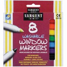 Washable Window Markers 8/Pkg-