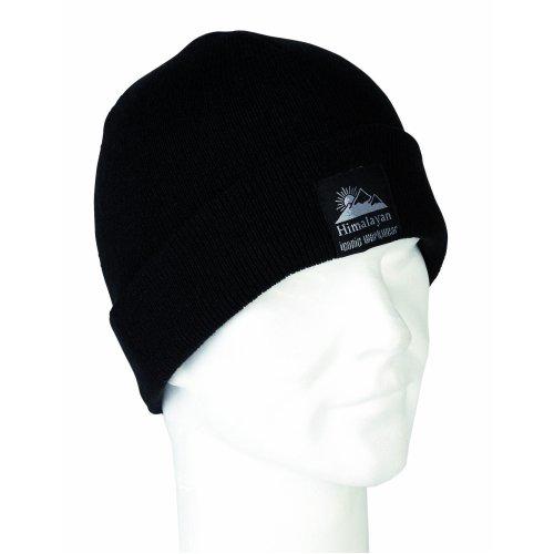 Himalayan H850BK Warm Black Insulator Beanie Hat Skull Cap Ski Hat Insulated
