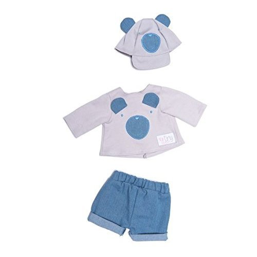 Chad Valley Tiny Treasures Teddy Casual OutfiT