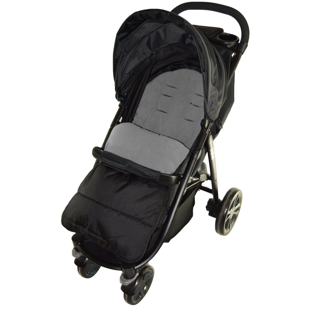 Cosy Toes Compatible with Chicco Pushchair Dolphin Grey Footmuff