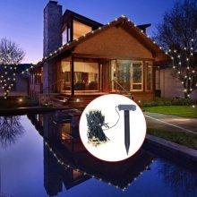 LED Solar String Lights Warm White Christmas Decoration