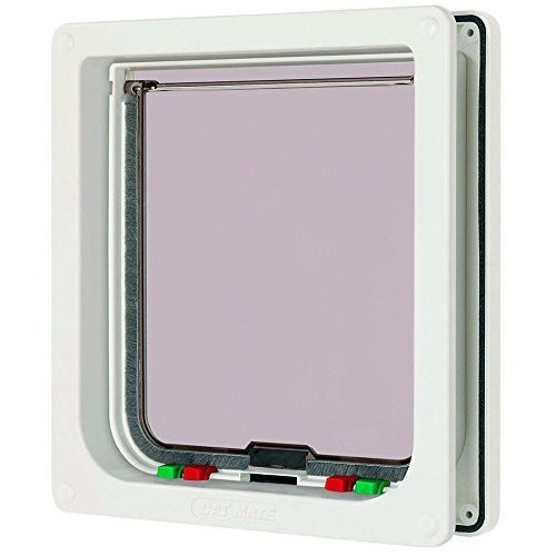 Cat Mate Large 4-Way Cat Flap, 210mm x 227mm opening