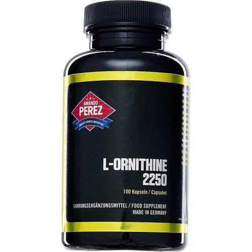 L Ornithin 2250Mg Per Serving–100Capsules–Hochdosierte Amino Acid