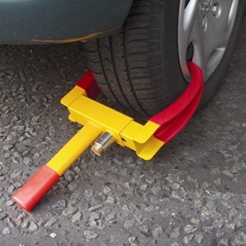 Wheel Clamp Caravan Trailer Car Van Security Lock – 2 Keys Supplied – Heavy Duty