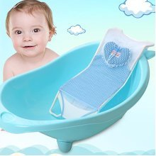 Newborn Baby Infant Bath Net Seat Holder Support Bed Antiskid Bathtub For Baby Bath Protection