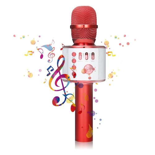 Wireless Karaoke Microphone - NASUM 3-in-1 Portable Built in Bluetooth 4.1 Speaker Machine for Android/iPhone/iPad/Sony/,PC or All Smartphone,for...