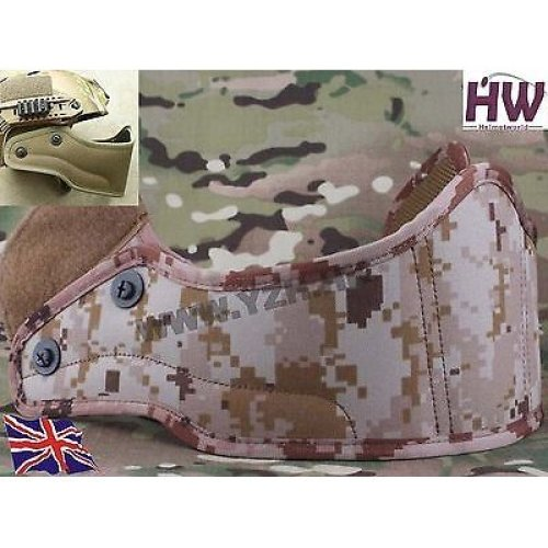Airsoft Core Ops Mich Af  Helmet Front Guard Protector Aor1