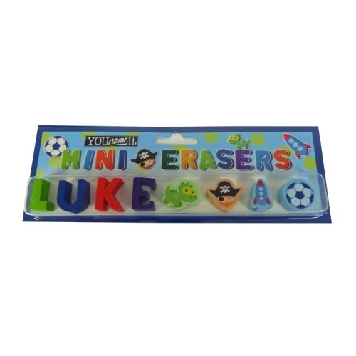 Childrens Mini Erasers - Luke