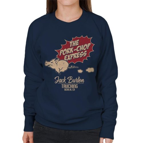 Big Trouble In Little China Inspired Pork Chop Express Women's Sweatshirt