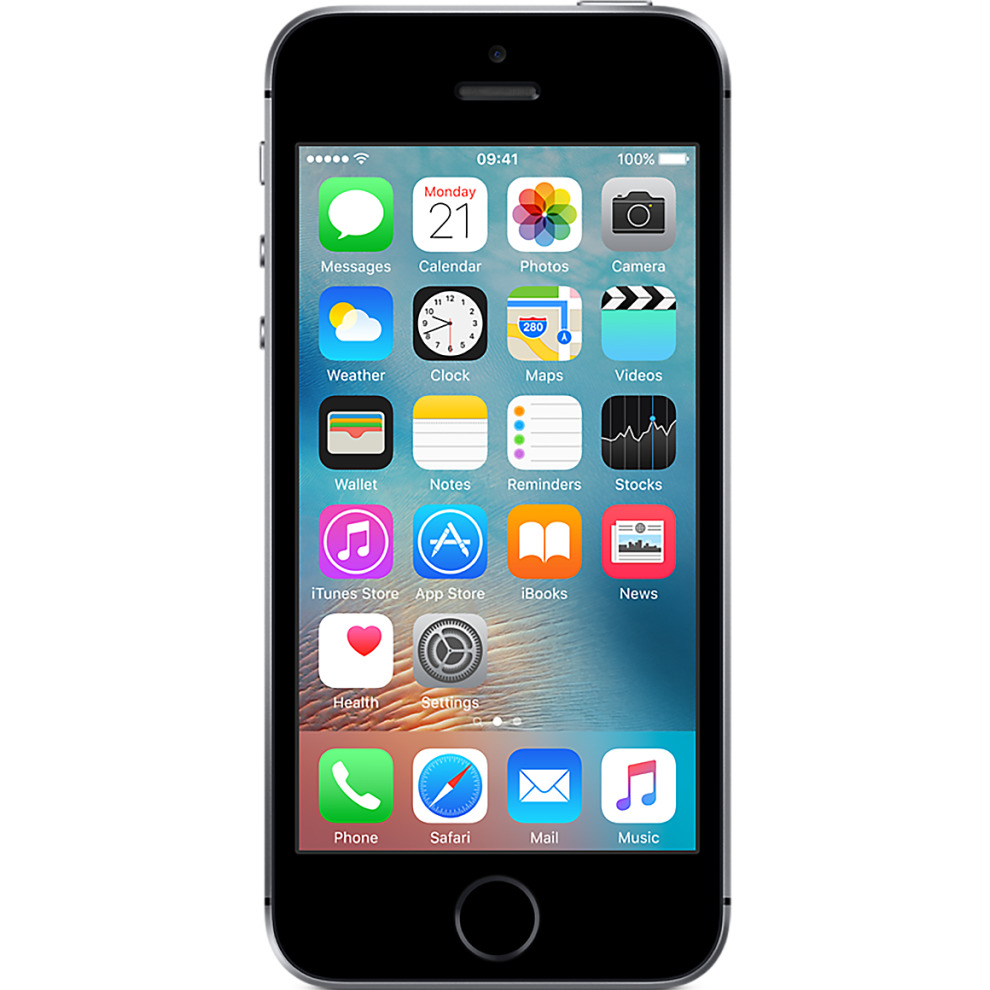 O2, 32GB Apple iPhone SE - Space Grey