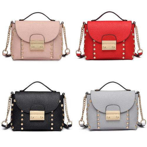 Miss Lulu PU Leather Ladies Handbag Shoulder Bag