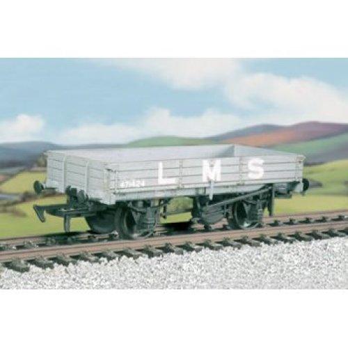 OO wagon kit - LMS 3 Plank Medium Open Wagon 1935-1947 - Ratio 573 free post