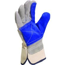 Delta Plus Venitex DS202RP Grey Canadian Rigger Safety Work Gloves Docker PPE
