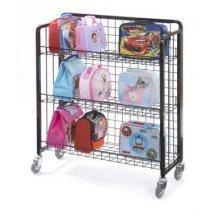 Childrens Single Lunchbox Trolley (FX10) - Classroom/Nursery