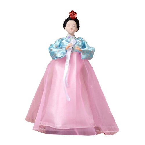 f8381c5e6 Traditional Korean Hanbok Vintage Restaurant Doll Figurine 03 on OnBuy