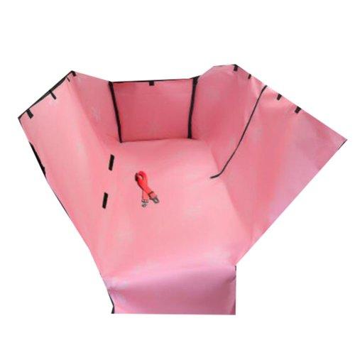 Waterproof Pet Car Seat Cover Pet Mat Double Rear Seat Mat- 04
