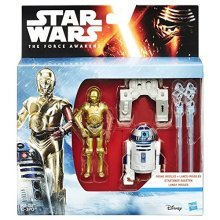 Star Wars The Force Awakens 3.75-Inch Snow Mission R2-D2 and C-3PO Action Figure