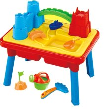 Inside Out Toys Sand and water play table 2 in 1 with loads of great accesories