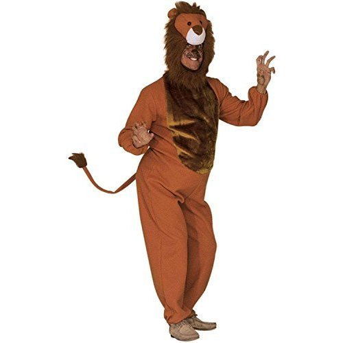 Mens Lion Costume Extra Large Uk 46  For Animal Jungle Farm Fancy Dress - mens lion costume jungle king mufasa simba africa narnia fancy dress outfit  sc 1 st  OnBuy & Mens Lion Costume Extra Large Uk 46
