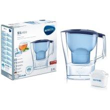 BRITA Aluna Cool MAXTRA+ Plus 2.4L Water Filter Fridge Jug with Cartridge - Blue
