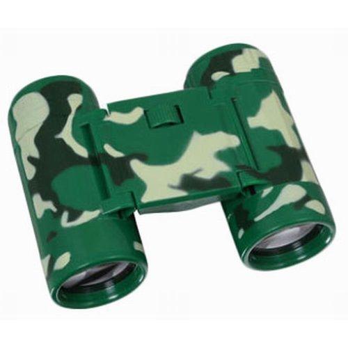 Kids Toy Binoculars Telescope Science Explore Educational Toys, Camouflage Green