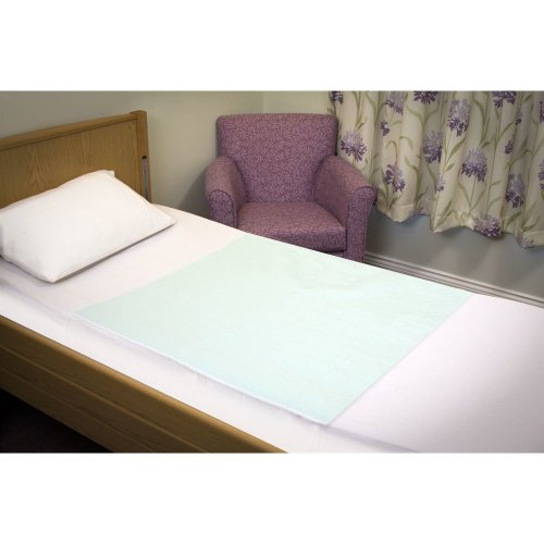 Dura Single Bed Pads With Tucks - Reusable Incontinence Bed Protection