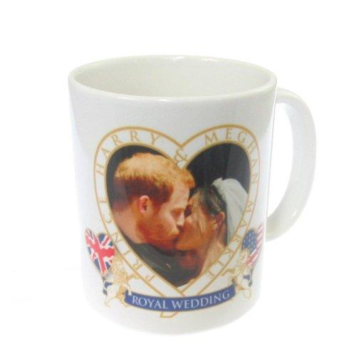 """royal wedding mug cup """"the kiss"""""""