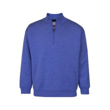 ProQuip Half Zip Merino Water Repellent Jumper Blue Small