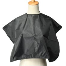 Black Waterproof Hairdresser Shampoo Cape Barber Hair Cutting Gown