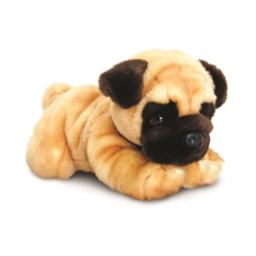 Keel Reggie Pug Dog Soft Toy 30cm