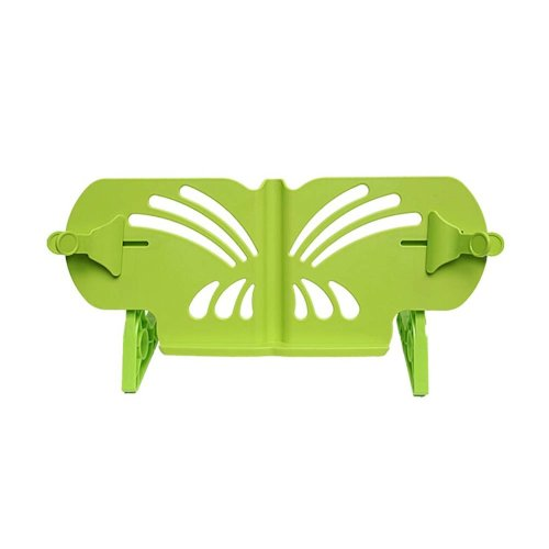 Creative Book Stand Reading Holders Bookends Book Racks, Green