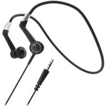 Audio-Technica ATH-CP700 Black Waterproof Sports In-Ear Headphones