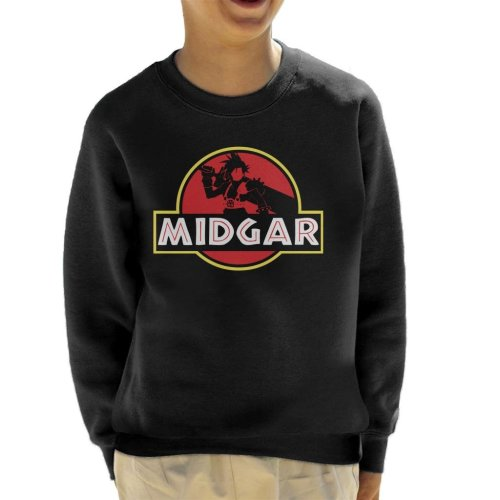Final Fantasy Midgar Park Kid's Sweatshirt