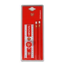 Arsenal Wordmark Core Stationery Set - Football Official Club School Pencil New -  stationery football set official core arsenal club school pencil