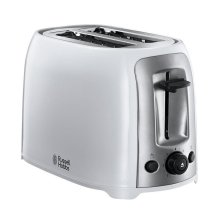 Russell Hobbs Darwin 2-Slice Toaster - White With reheat function (Model 23860)