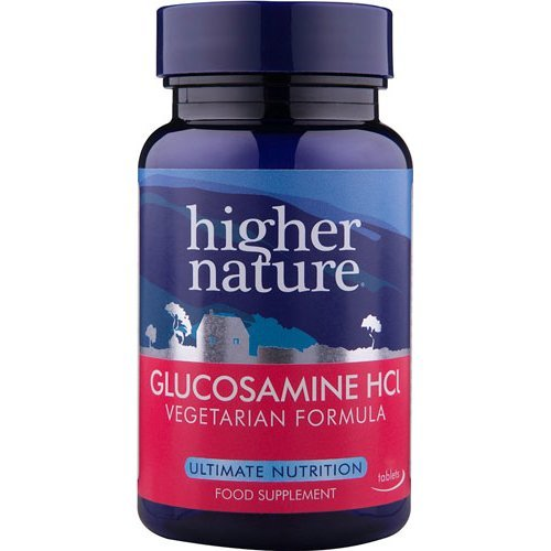 Higher Nature  Vegetarian Glucosamine Hydrochloride 90s