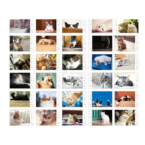 30 PCS Classic Beautiful Scenery Photo Postcards Artistic Greeting Cards- D3