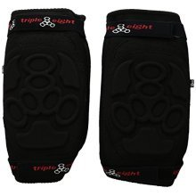 Triple Eight ExoSkin Knee Pad (Black, Small)