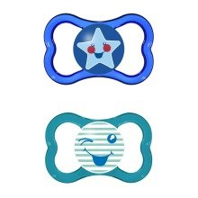 Mam Air 6+m Soother - Boy (blue/green)
