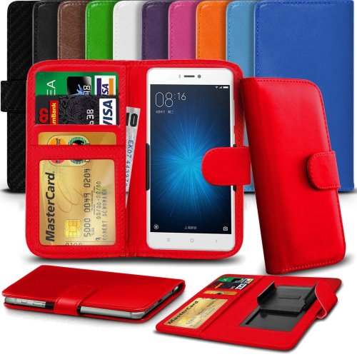 """iTronixs - Cat S60 (4.7"""") High Quality Clamp Style PU Leather Wallet Case Cover"""