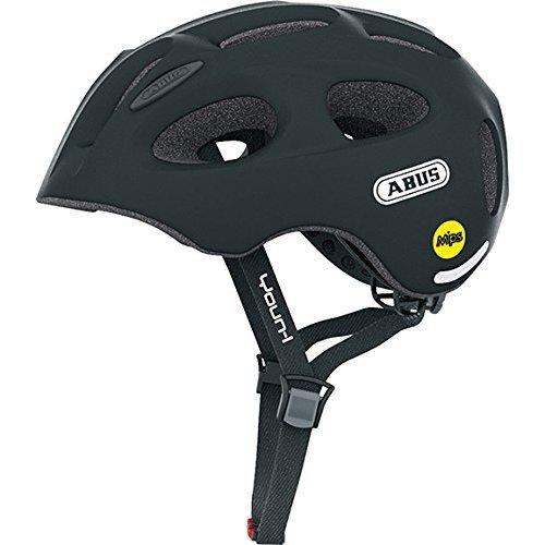 ABUS Youn-I Mips Bicycle Helmet, Unisex, Youn-I MIPS, velvet black, 48-54 cm