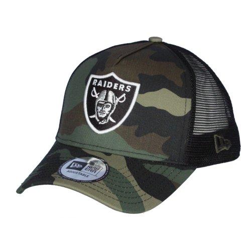 9d017f2c00bf0c New Era Camo Team Adjustable Trucker Cap ~ Oakland Raiders on OnBuy